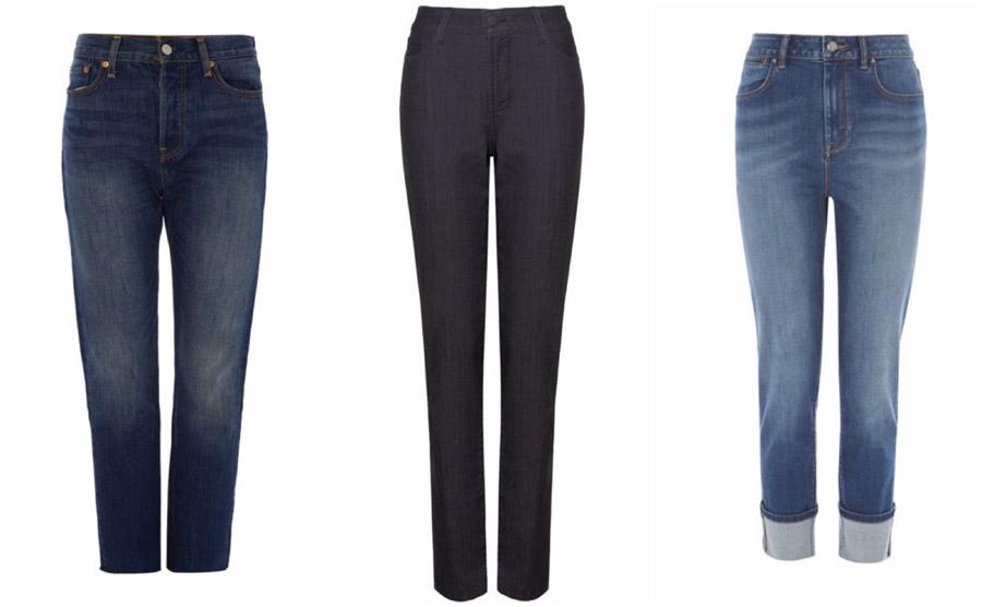 Straight Leg High Waist Jeans Shop Grid Alexie 2