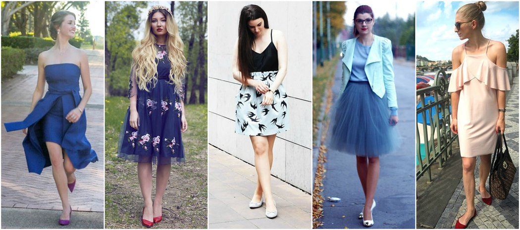 how to dress up flat shoes