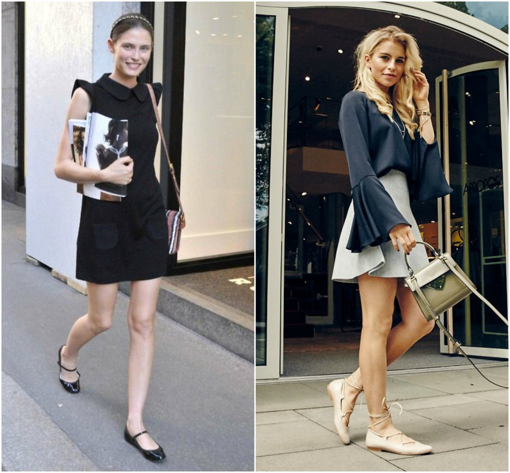 how to wear stylish flats for work