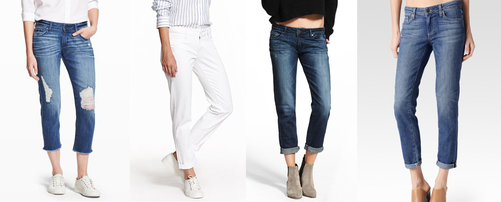 outfit grid womens boyfriend jeans light dark wash ripped white