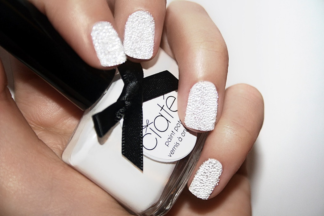 Ciate textured white nail varnish
