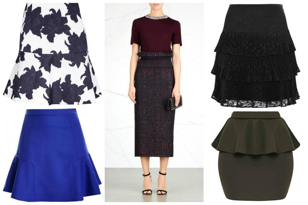 peplum-skirts