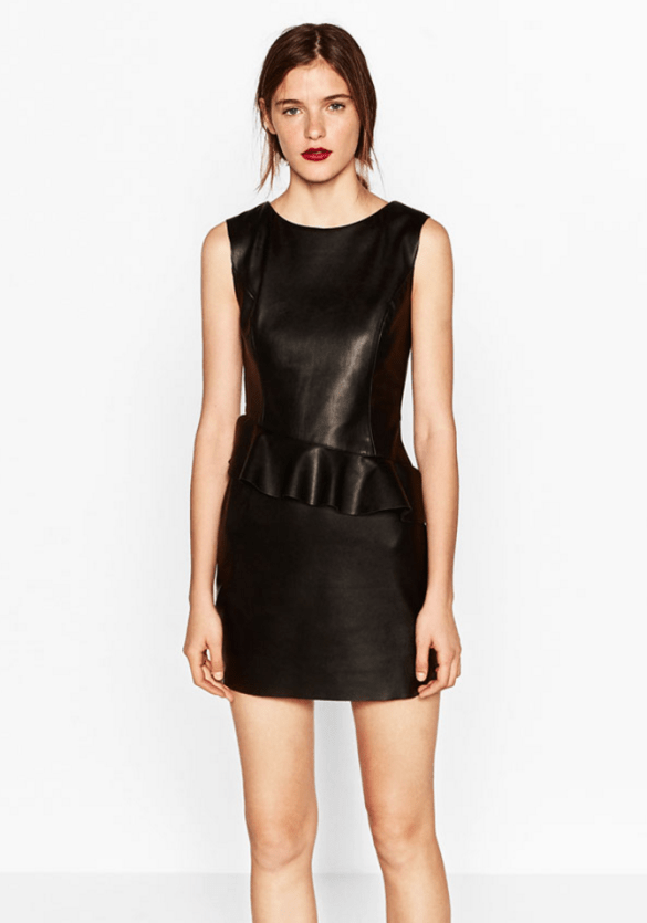 Zara Tube Dress with Peplum Waist £25.99