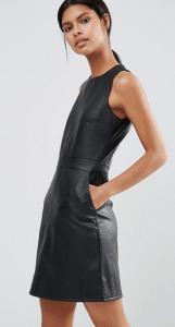 Warehouse Leather Look Mini Dress £49