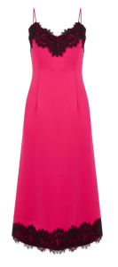 Warehouse Pink Lace Trim Cami Dress £65