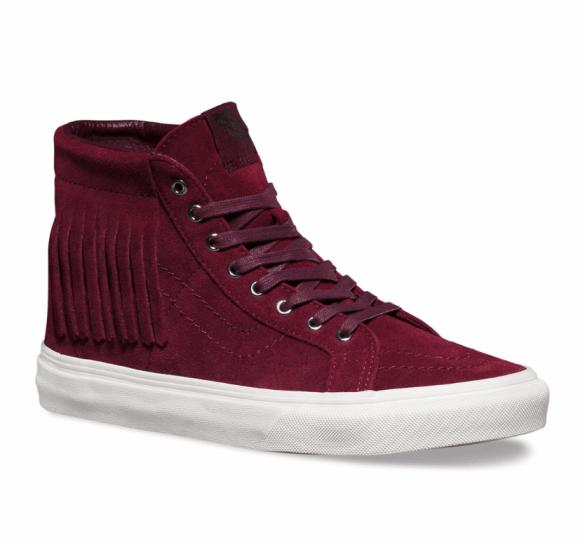 Vans Suede Sk8-Hi Moc Shoes £75