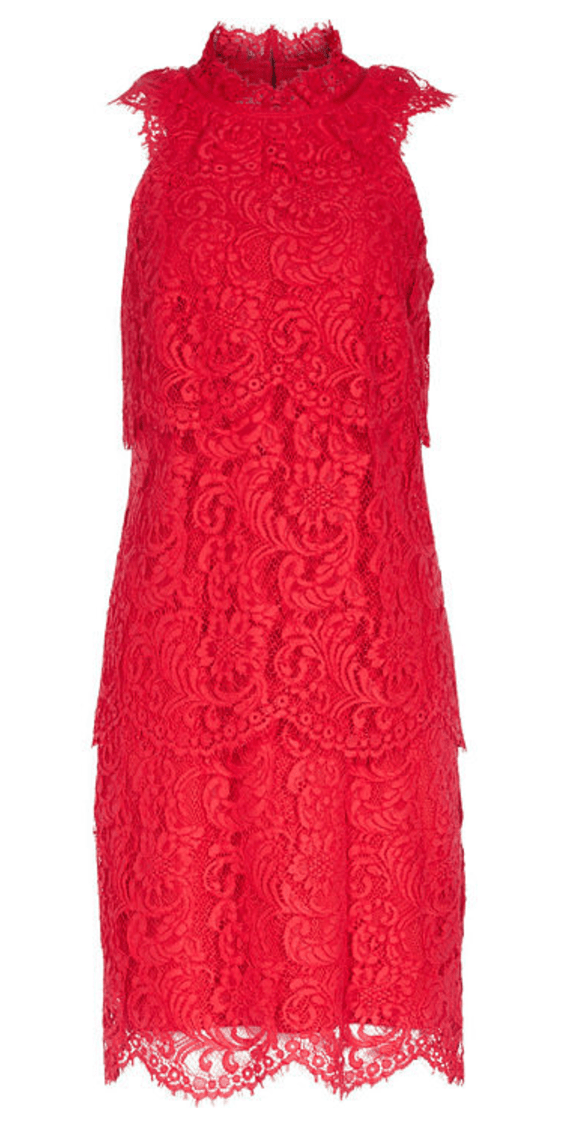 Sophia Tiered Lace Dress £65
