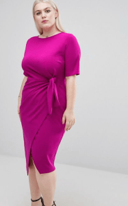 asos-curve-knot-front-dress