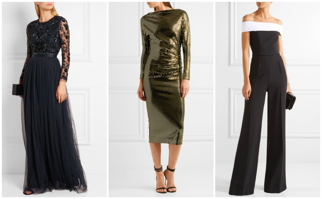 ball-gala-outfits New Year's Eve