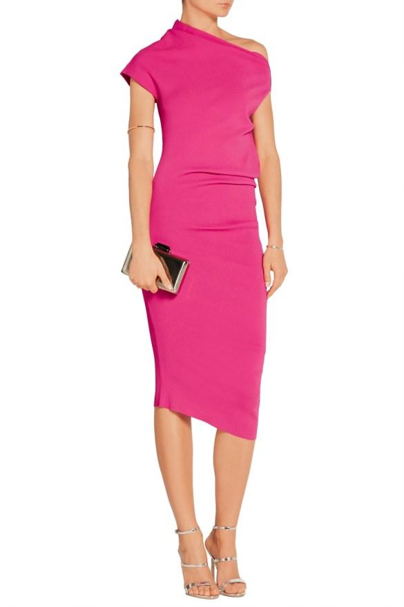 donna-karen-new-york-asymmetric-stretch-jersey-dress