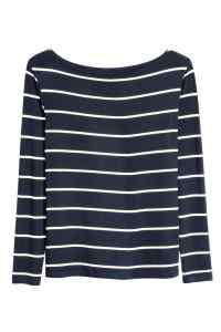 H&M Striped Boatneck Top £9.99