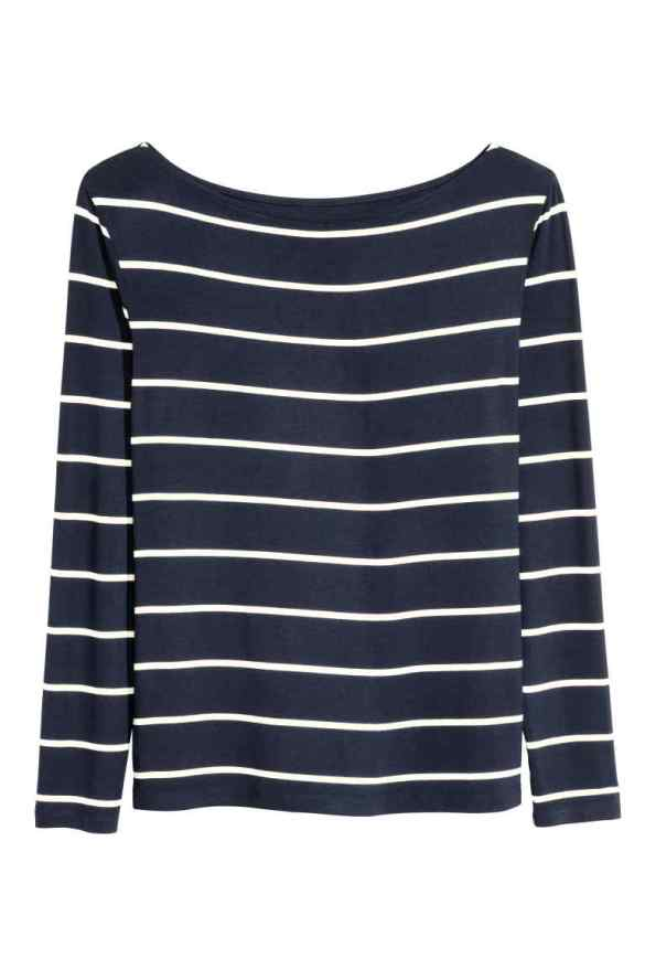 H&M Striped Boatneck Top £9.99