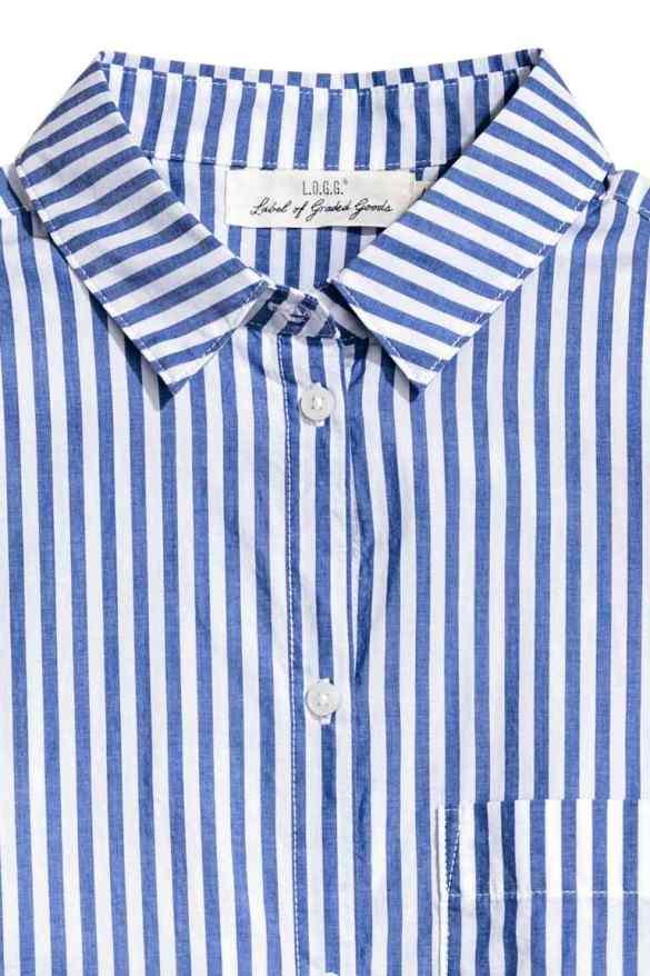 H&M Striped Cotton Shirt £17.99