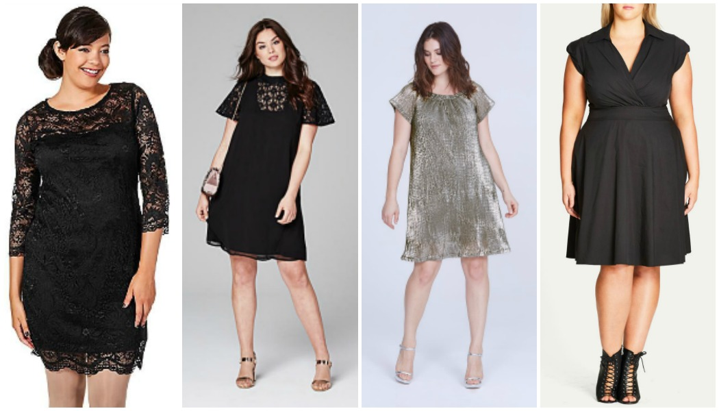 plus-size-dresses to wear for New Year's Eve