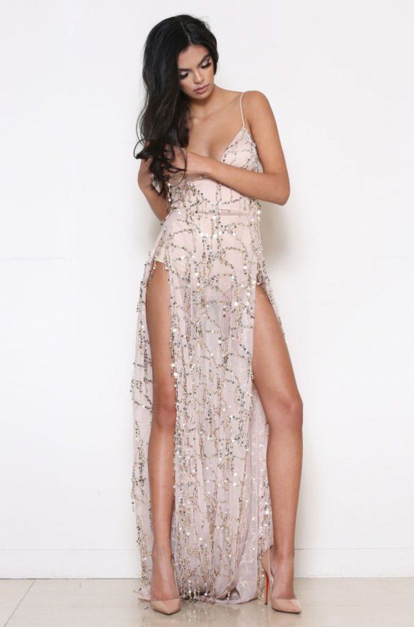 Abyss by Abby Casino Royale Gown £265