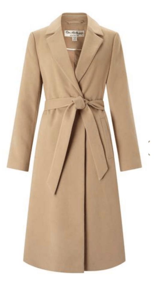 Camel Belted Midi Duster Coat £45.00