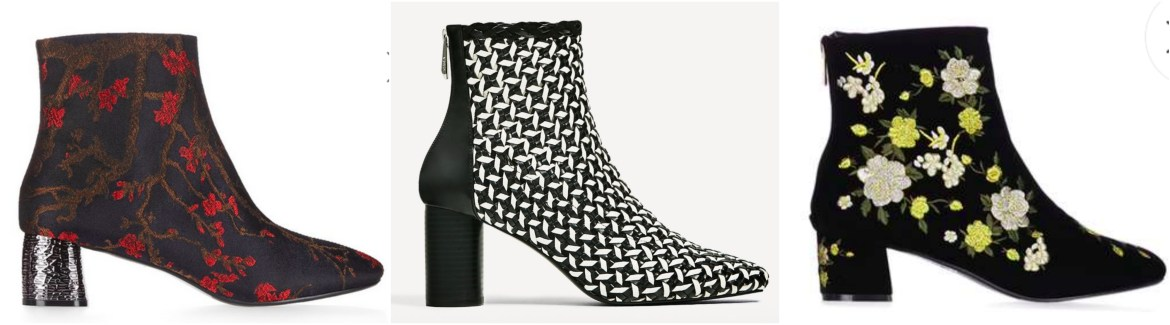 Patterned Chelsea Boots