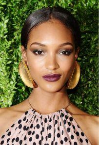 Jourdan Dunn Mauve Lipstick