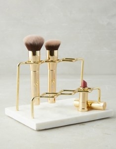 Anthropologie Grier Vanity Organizer Brush Holder