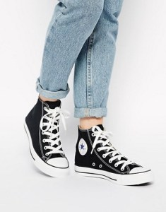 Converse, Sneakers, Black, Chuck Taylors