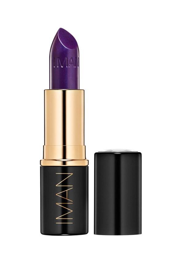 Iman lipstick taboo purple