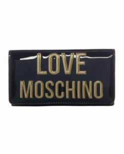 Love Moschino Letters Flap Over Purse