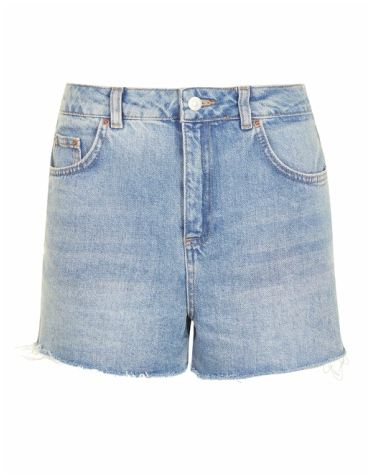 Highwaisted denim Topshop shorts