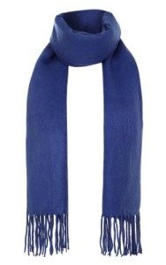 Super Soft Scarf Blue Topshop