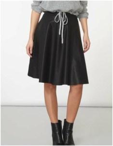 Dorothy Perkins Noisy May Black Skater Skirt