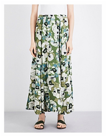 Selfridges Free People Hot Tropics Woven Maxi