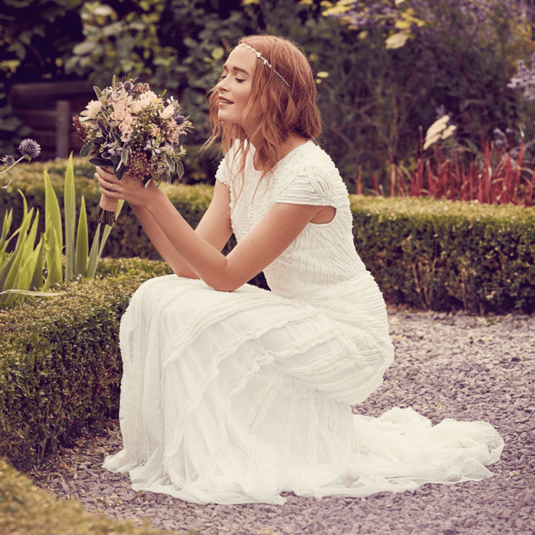 Debenhams Nine by Savannah Miller - Ivory'Anabella' wedding dress