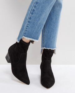 ASOS REGIONAL Point Sock Boots