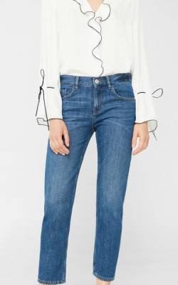 Mango Relaxed crop Cigar jeans - shop jeans