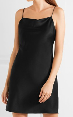 Net-a-Porter ALICE + OLIVIA Harmony satin mini dress