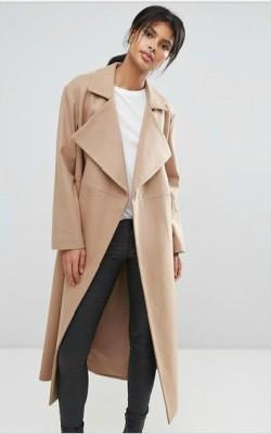 ASOS French Connection Camel Longline Coat - $364 shop