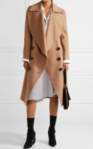 Net-a-Porter Burberry Crewdale camel hair and wool-blend coat - $2,895