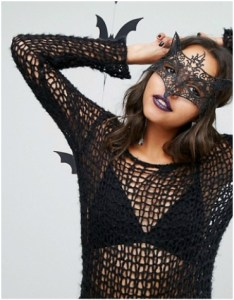 Asos - Missguided Lace Fox Face Mask