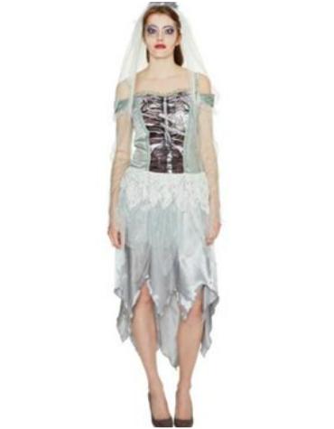 Tesco corpse bride halloween costume