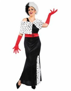 Asda Disney Cruella de Vil Halloween costume