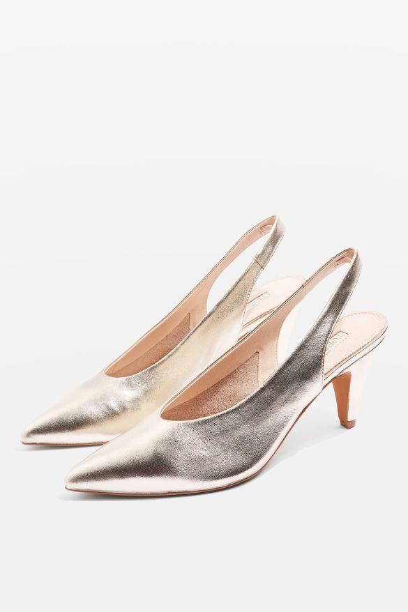 Topshop JETSET Slingback Heel Shoes