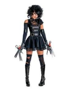 Very - Miss Scissorhands Halloween costume
