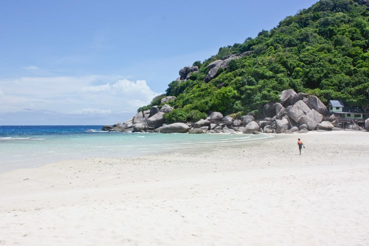 Beach on Koh Nang Yuan