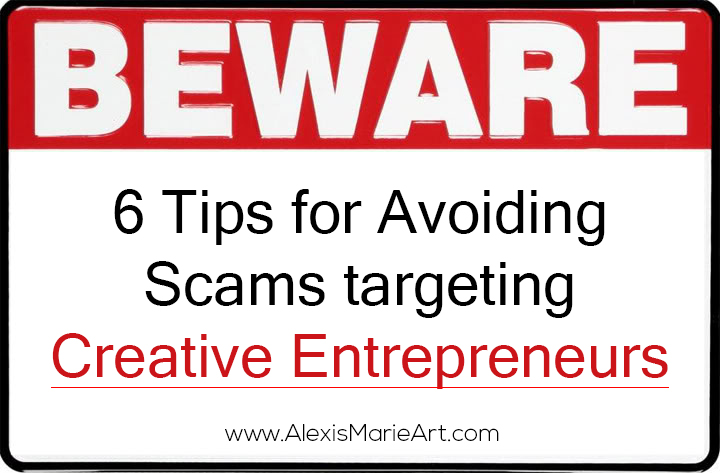 6 tips for avoiding scams targeting creative entrepreneurs