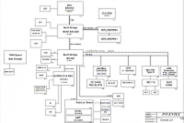 مخطط جهاز لاب توب Asus-UX50_schematic