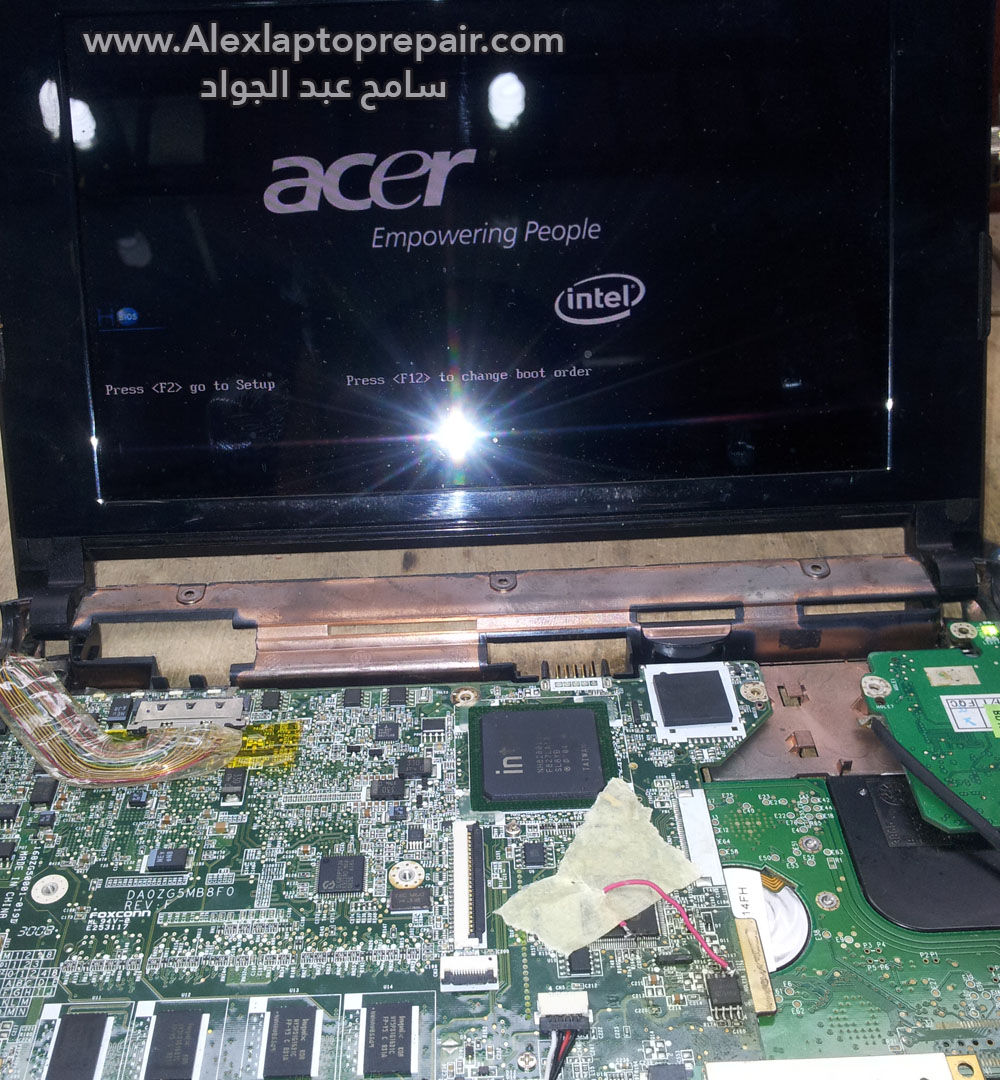 acer zg5 no display