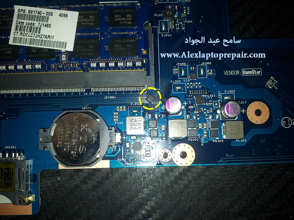 compaq 15 no display - nodata-no boot post 3