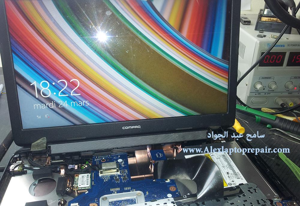 compaq 15 no display - nodata-no boot post 5