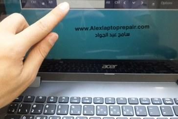 حل عطل تاتش سكرين اللاب توب لا يعمل Acer i5 Aspire R3-471T Quanta ZQX touch screen not work