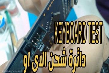 [فيديو] خاصية مهمة فى دائرة شحن الاي او , معلومة مهمة للدوائر الاخري Vertyanov keyboard test