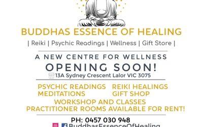 BUDDHAS ESSENCE OF HEALING – OPENING SOON!